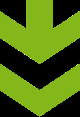 green-double-arrow-down